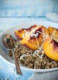 Quinoa Porridge Stock Photos
