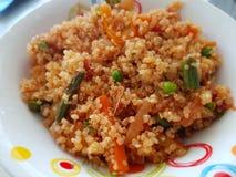 Quinoa Pulao Lizenzfreie Stockbilder