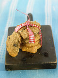 Quinoa and raisin cookies Royalty Free Stock Images