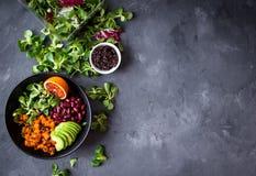 Quinoa sałatki tło zdjęcia stock