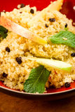 Quinoa Salad with apple Stock Photo