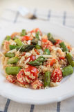 Quinoa Salad with asparagus Stock Photography