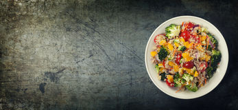Quinoa salad Stock Images