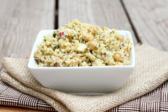 Quinoa Salad with Chickpeas Royalty Free Stock Photos
