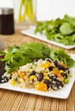 Quinoa Salad with Mixed Greens Royalty Free Stock Photography