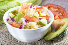 Quinoa salad. Royalty Free Stock Image