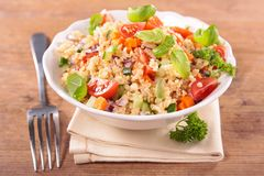 Quinoa salad Royalty Free Stock Photography