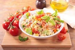 Quinoa salad. On wood background Stock Image