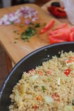 Quinoa salade Royalty-vrije Stock Fotografie