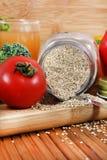 Quinoa sana Fotografia Stock Libera da Diritti