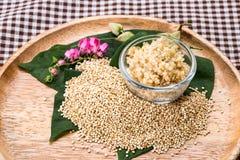 Quinoa seed Stock Image