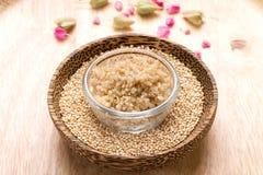 Quinoa seed Stock Photo