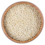 Quinoa Seeds in a Bowl Stock Image