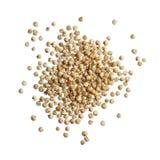 Quinoa seeds isolated on white background Stock Image