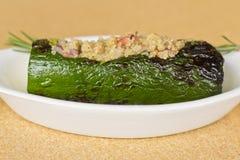 Quinoa Stuffed Zucchini Stock Photos