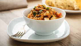 Quinoa Tabbouleh Royalty Free Stock Images