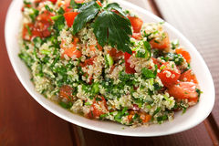 Quinoa tabouleh Royalty Free Stock Images