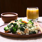 Quinoa with Vegetables Stock Image