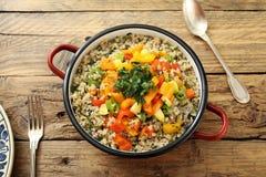 Quinoa vegetarian salad Royalty Free Stock Image