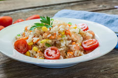 Quinoa and veggies Royalty Free Stock Photography