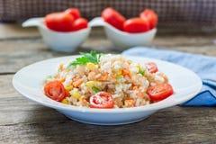Quinoa and veggies Stock Images