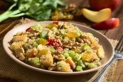 Quinoa Waldorf Salad Royalty Free Stock Photos