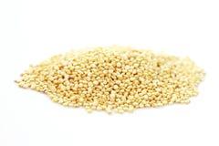 Quinoa on white background Stock Photo