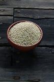 Quinoa zaden stock foto