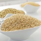 Quinoa zaden royalty-vrije stock foto