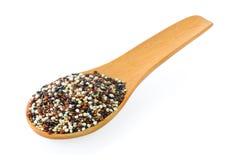 Quinoa zaden stock foto's
