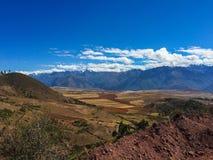Quinoabauernhöfe nahe Cusco Lizenzfreies Stockfoto