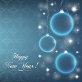 Quinquilharias abstratas do ` s do ano novo Imagens de Stock