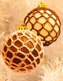 Quinquilharias da árvore de Natal Imagens de Stock