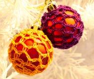 Quinquilharias da árvore de Natal Foto de Stock
