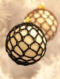 Quinquilharias da árvore de Natal Foto de Stock Royalty Free
