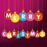 Quinquilharias do Feliz Natal Foto de Stock