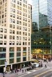 Quinta Avenida e 42nd rua, New York Fotos de Stock