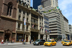 Quinta avenida, Manhattan, New York City Fotos de Stock