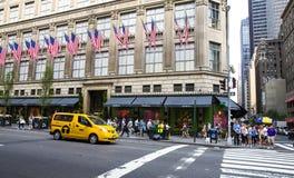 Quinta Avenida New York City imagen de archivo