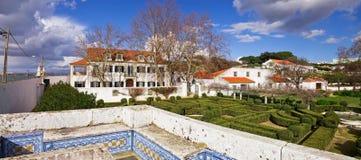 Quinta da Fidalga or Fidalga Palace and Gardens. royalty free stock photography