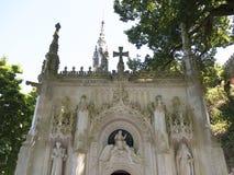 Quinta da Regaleira è una proprietà situata vicino al centro storico di Sintra, Portogallo Immagine Stock Libera da Diritti