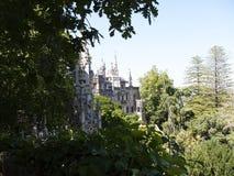 Quinta da Regaleira è una proprietà situata vicino al centro storico di Sintra, Portogallo Immagini Stock Libere da Diritti