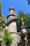 Quinta da Regaleira. Garden of Quinta da Regaleira in Sintra, Portugal royalty free stock photo