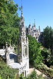 Quinta da Regaleira. Garden of Quinta da Regaleira in Sintra, Portugal stock photography