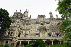 Quinta DA Regaleira Royalty-vrije Stock Afbeeldingen