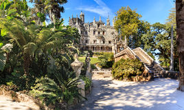 Quinta da Regaleira Imagen de archivo libre de regalías