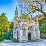 Quinta da regaleira chapel Stock Image