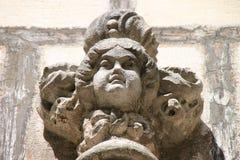 Quinta da Regaleira detail. Over door Royalty Free Stock Image