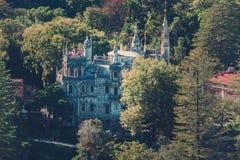 Quinta da Regaleira, jeden symbole masoneria fotografia royalty free