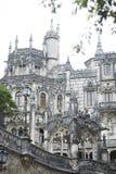Quinta da Regaleira Palace em Sintra, Portugal Fotografia de Stock Royalty Free